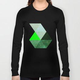 Green as dolla!  Long Sleeve T-shirt