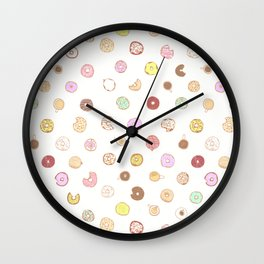 Donut You Want Some 04 Wall Clock