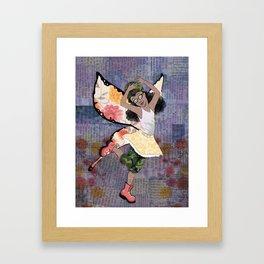 Fighter Faerie Framed Art Print