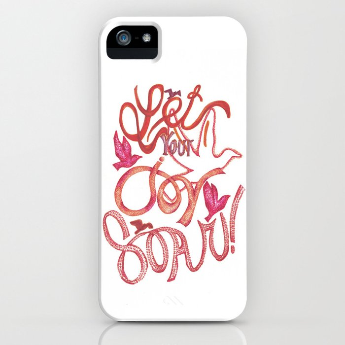 Let Your JOY Soar! iPhone Case