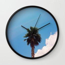 Palm Tree Wall Clock