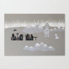 U.F.O. Canvas Print