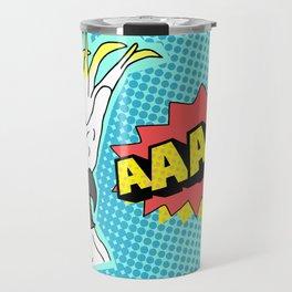 Cockatoo Comic AAAAAA Travel Mug