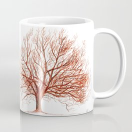 Lonely tree in autumn Coffee Mug
