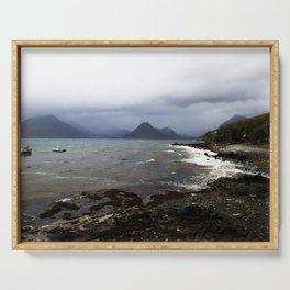 Elgol Scotland - Stormy Seas Serving Tray