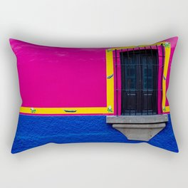 At the bottom of your window Rectangular Pillow