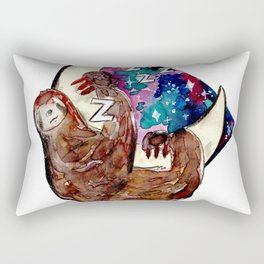 just another sloth in the moon Rectangular Pillow