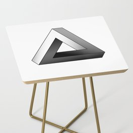 Impossible Triangle Side Table