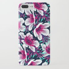 Manuka Floral Print -  Light iPhone 7 Plus Slim Case