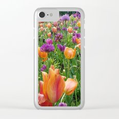 A Sunset in Bloom Clear iPhone Case