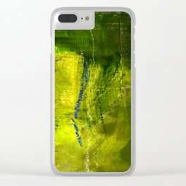 Into The Blue No.3j by Kathy Morton Stanion Clear iPhone Case