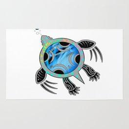 Painted Sea Turtle Rug