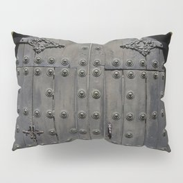 Old Black Door Pillow Sham