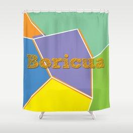 Boricua, Puerto Rico Shower Curtain
