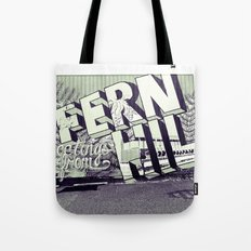 Greetings from Fern Hill Tote Bag