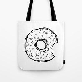 Bitten donut Tote Bag