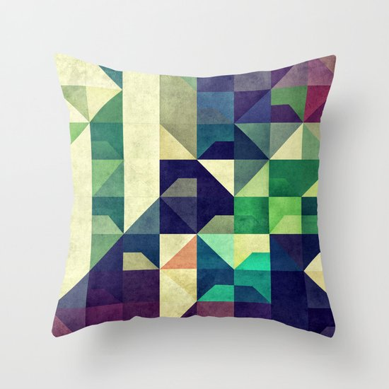 Tyo DDz Throw Pillow
