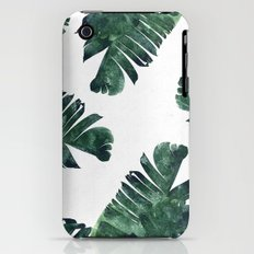 Banana Leaf Watercolor Pattern #society6 iPhone (3g, 3gs) Slim Case