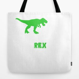 Daddysaurus T shirt Fathers Day Gifts T rex Daddy Saurus Men Tote Bag