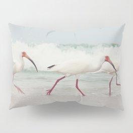 Three Little Ibis All in a Row Pillow Sham