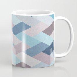 Mauve Blue Geometry VIB Coffee Mug