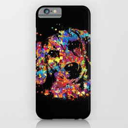 Colorful Dachshund dog  - Doxie iPhone Case