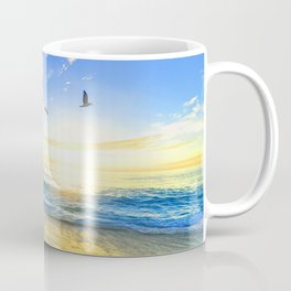 Freedom is an empty beach Coffee Mug
