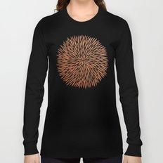 Rose Gold Burst Long Sleeve T-shirt