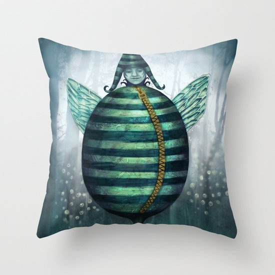 A Tizzen Throw Pillow