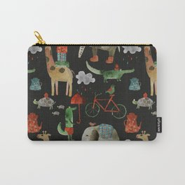 Cozy Zoo Carry-All Pouch