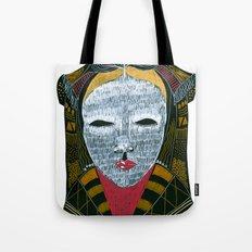 Black MASK Tote Bag