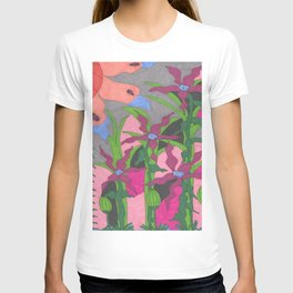 The Garden at Twilight T-shirt