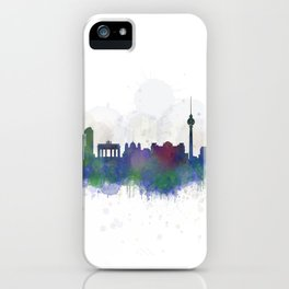 Berlin City Skyline HQ3 iPhone Case
