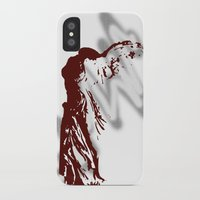nike iPhone & iPod Cases featuring Athena Nike  by Emma Elisabeth