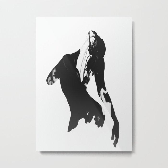 Beautiful Movement Metal Print