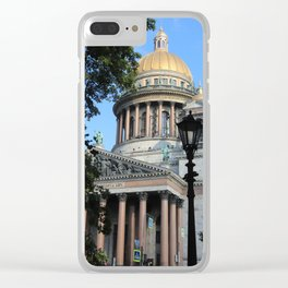 Saint Isaac's Cathedral Clear iPhone Case