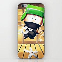 Ninja Kyle iPhone Skin
