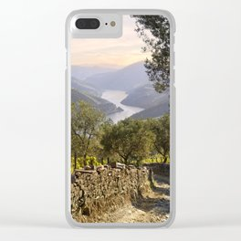 Track in the Douro, Portugal Clear iPhone Case