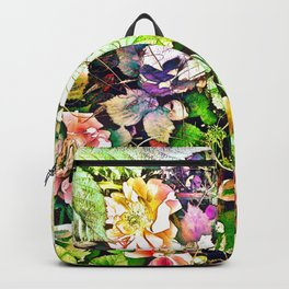 Scattered Blooms And Verdure Backpack