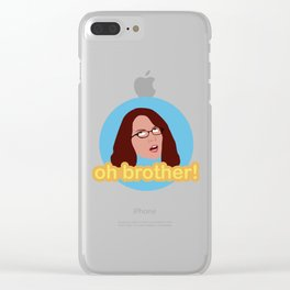 Oh Brother Clear iPhone Case