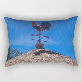 The Rooster Rectangular Pillow