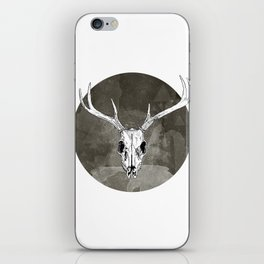 Stag Skull iPhone Skin