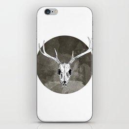 Stag Skull iPhone Skin