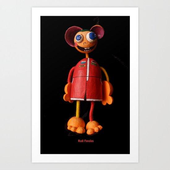 Rudi Favolas Art Print