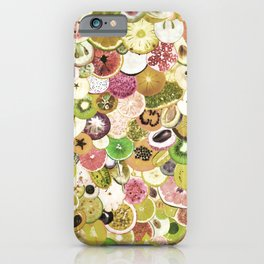 Fruit Madness (All The Fruits) Vintage iPhone Case
