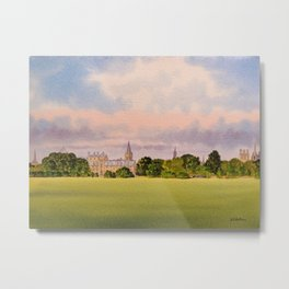 Christchurch Meadow Oxford City England Metal Print