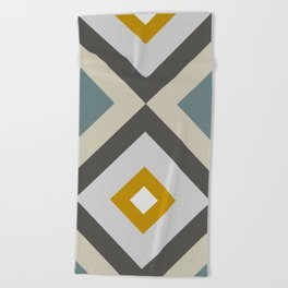Mid West Geometric 04 Beach Towel