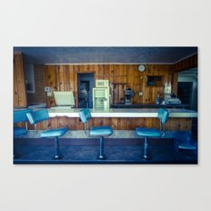 Antelope Cafe Canvas Print