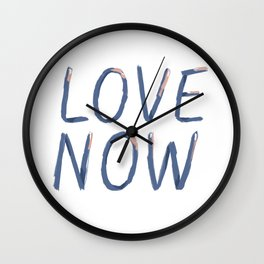 LOVE NOW Wall Clock
