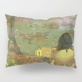 On the roofs of Paris Pillow Sham